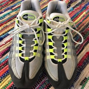 Nike Airmax 95 Evolution Sneakers Lime Green 11.5